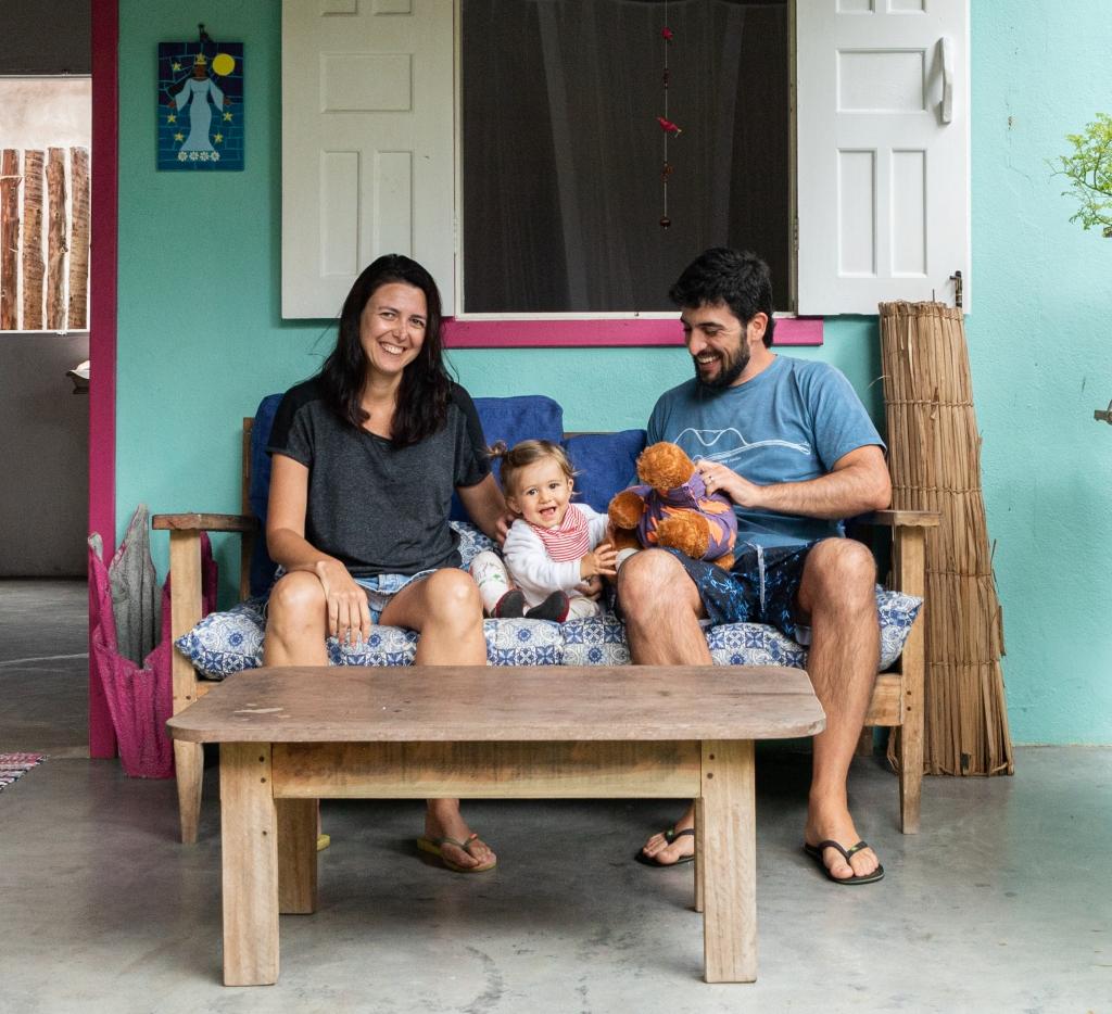 Três mochilas pelo mundo em Caraíva